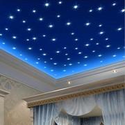 Светящиеся звездочки для домашнего декора 100 шт